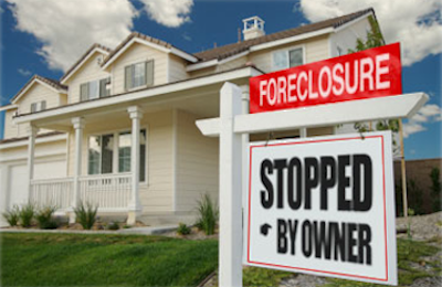 Foreclosure stopped by owner